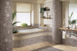 Ванная в стиле кубизма