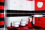 Ванная в стиле модерн с душевой кабинкой